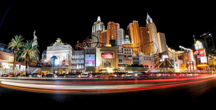 architecture bright cars casino